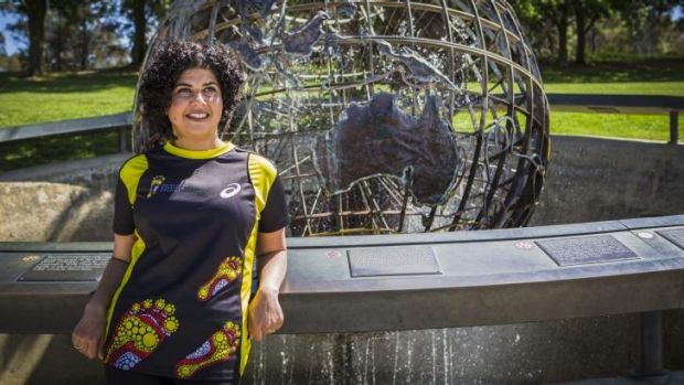 Giving back: Canberra's Ayesha Razzaq will run in this year's New York City Marathon to raise money for the Indigenous ...