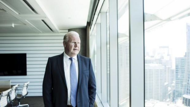 ANZ CEO Mike Smith at the ANZ Headquarters in Sydney