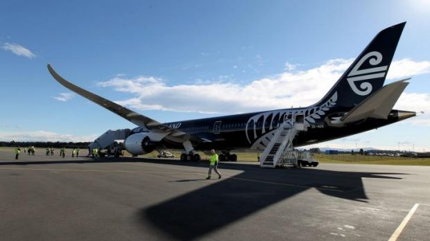 The experienced Air New Zealand pilot was learning how to fly the new Dreamliner.