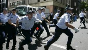 Brisbane G20 organisers will be hoping there is no repeat of  the violence of the 2006 summit in Melbourne.