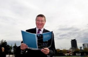 Prestige project: Victorian Premier Denis Napthine announced that Fishermans Bend would undergo urban renewal , the ...