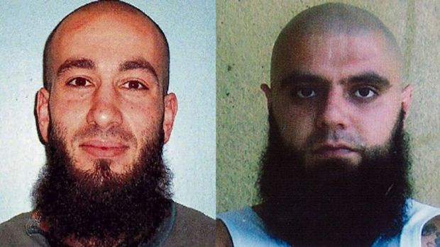 """Brothers for Life: Gang founder Bassam Hamzy, left, and """"general"""" turned rival Farhad Qaumi, right. Both are now in ..."""