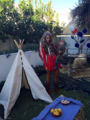 Victoria Montano spared no expense on a party for her son, Xavier.