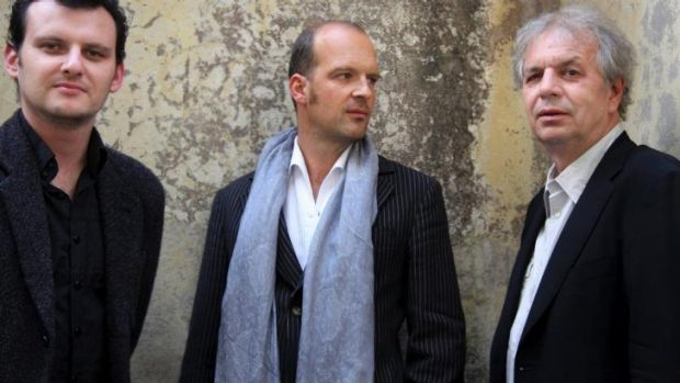Never idle: Slava Grigoryan, Wolfgang Muthspiel and Ralph Towner.