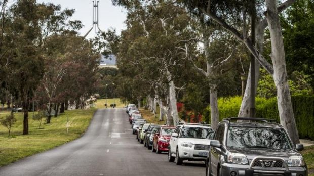 Almost over: Free, unlimited parking in Melbourne Avenue is about to end.