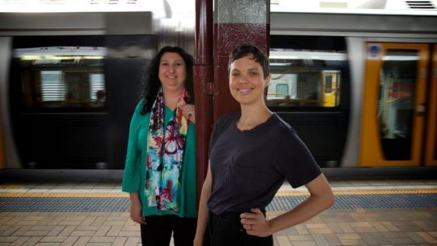 Movable literary feast: Tamar Chnorhokian and Astrid Lorange are part of the Emerging Writers' Festival roadshow.