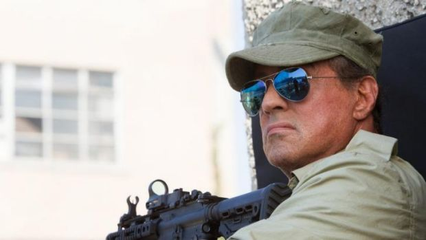 Sylvester Stallone in <i>The Expendables 3</i>.
