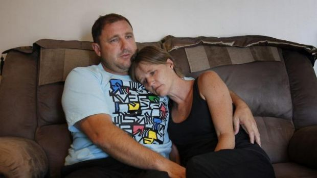 """""""He did die doing what he loved best"""": Mark and Peta Morrissey, parents of Jayden, who was killed after being struck by ..."""