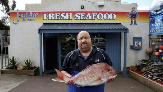 Sinking feeling: Fifth-generation fisherman Peter Jenkins says any nets ban could force his business to close.