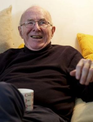 Clive James pictured at his home in Cambridge, England, in 2012.