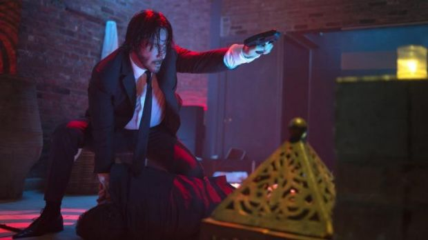 Keanu Reeves is back ... Revenge is the dish of the day in <i>John Wick</i>.