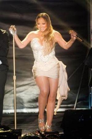 Mariah Carey in concert at Sandalford, Western Australia, 2 November, 2014.