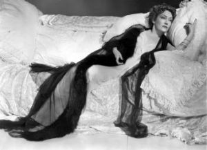 Deranged: Gloria Swanson was mad about her loss of youth and beauty in <i>Sunset Boulevard</i>.