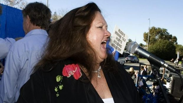 Facing new legal action: Mining magnate Gina Rinehart.