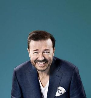 Brit funnyman: Ricky Gervais will write and direct as well as co-star in <i>Special Correspondents</i>, a remake of a ...