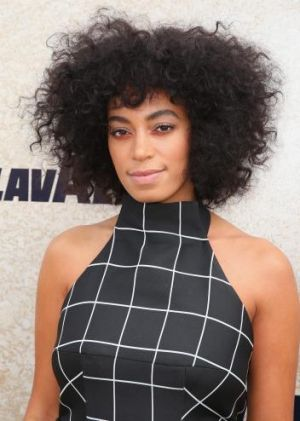 Solange Knowles was a guest at the Lavazza Marquee on Derby Day.