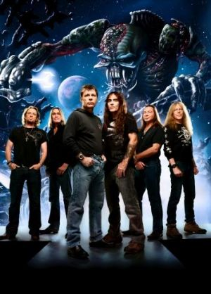 Iron Maiden, the heavyweights of British heavy metal.