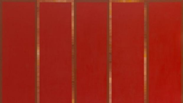 Minimal: Robert Jacks' <i>Red painting</i> (1968).