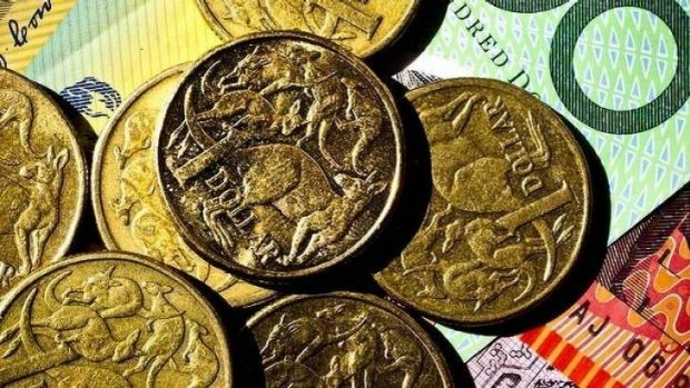 Global consolidation efforts are driving the Australian dollar down.