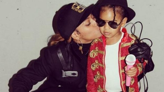 Beyonce and daughter Blue Ivy already collaborated on Halloween, as Janet and Michael Jackson.