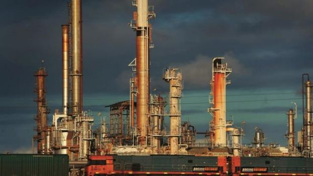 The oil refinery in Geelong is about to get a boost.