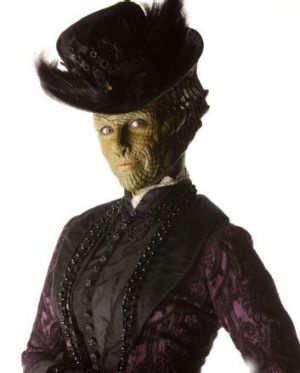 Neve McIntosh plays Madame Vastra in Doctor Who.