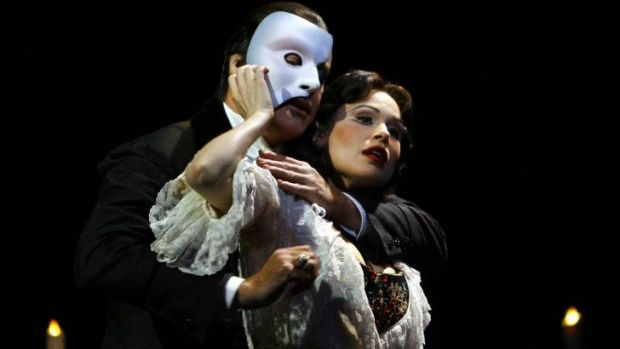 Staying power ... Anthony Warlow  and Ana Marina in a Sydney production of Phantom.
