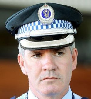 Slain: Inspector Bryson Anderson, whom Mitchell Barbieri has admitted killing.