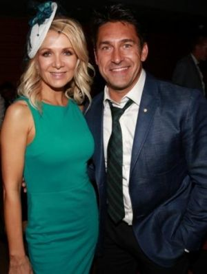 Danielle Spencer and Jamie Durie