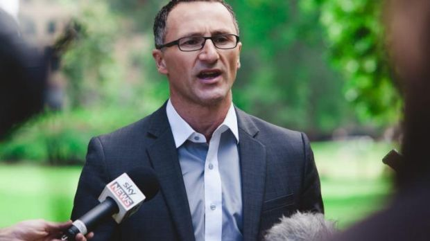 Ebola mission: Greens senator Dr Richard di Natale.