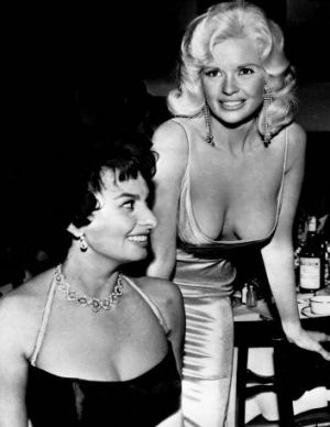 Sophia Loren has explained her reasoning for giving Jayne Mansfield the side-eye in 1957 because she was concerned ...