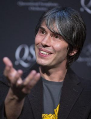 Science poster boy Brian Cox.