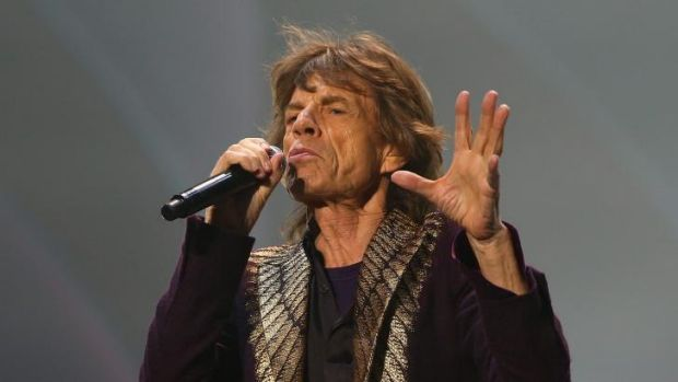 Tour woes: Reports are emerging that Mick Jagger is suffering a throat infection.