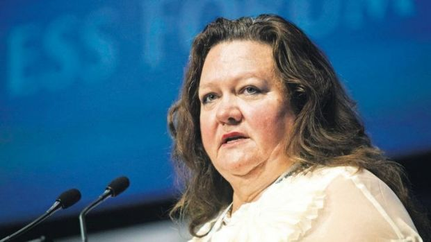 Gina Rinehart officially resigned from the Ten board this week