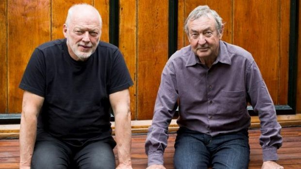 Survivors: Pink Floyd's Dave Gilmour (left) and Nick Mason return for the band's first studio album since 1994.