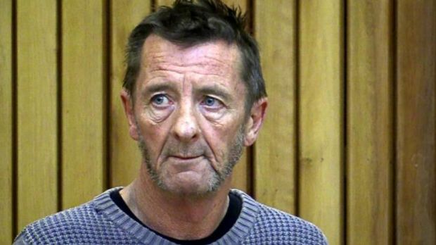 Phil Rudd in New Zealand's Tauranga District Court.