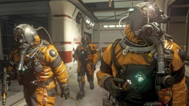 Future shock: Sci-fi gear and skills adds a new dimension to <i>Call of Duty: Advanced Warfare</i>.