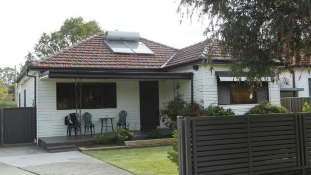Tight squeeze: Labor Party records say eight members occupy this house along with Hicham Zraika, his wife and daughters.