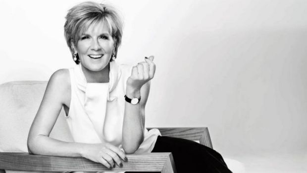 Living the dream: <i>Harper's Bazaar</i> nominates Julie Bishop as its 2014 Woman Of the Year.