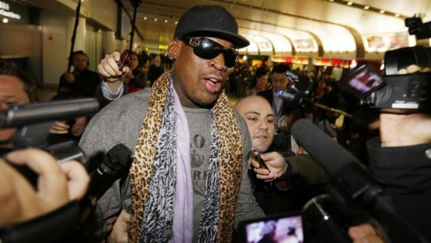 Former basketball great Dennis Rodman, who has talked up his cozy relationship with Kim, claimed his trips to the ...