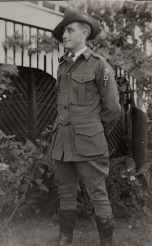 "Maurice John ""Jack"" Pickrell who served in the 4th Divisional Transport Company."