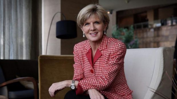 """It's looking very positive"": Foreign Affairs Minister Julie Bishop said negotiations were continuing but she was ..."