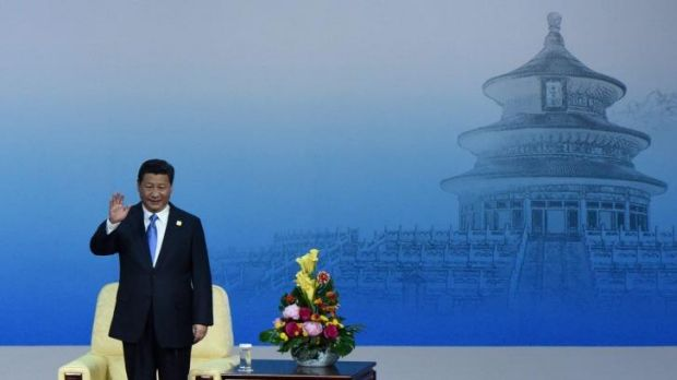 Charm offensive: China's President Xi Jinping has implemented sweeping temporary orders to minimise smog in Beijing ...