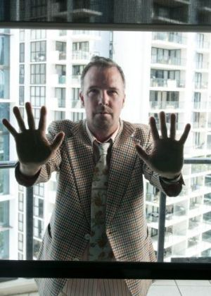Outsider... stand-up comedy veteran Doug Stanhope never needs to apologise.