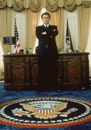 Martin Sheen as President Bartlett in <i>The West Wing</i>.