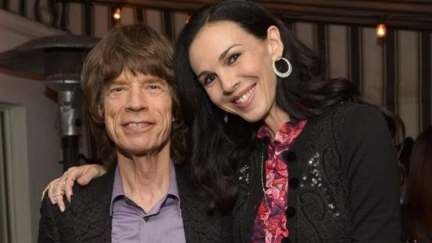 Insurance turned down: Mick Jagger with girlfriend L'Wren Scott.