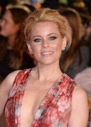 Elizabeth Banks at the world premiere of <i>The Hunger Games: Mockingjay Part 1</i> at Leicester Square, London.