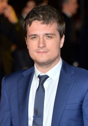 Josh Hutcherson at the world premiere of <i>The Hunger Games: Mockingjay Part 1</i> at Leicester Square, London.
