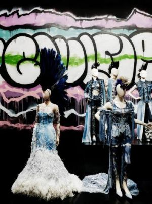 Punked: <i>The Fashion World of Jean Paul Gaultier: From the Sidewalk to the Catwalk</i> at the National Gallery of Victoria.