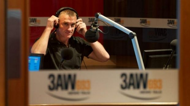 Tuning out: 3AW's Tom Elliott has fallen from first to fourth in the latest GfK survey.